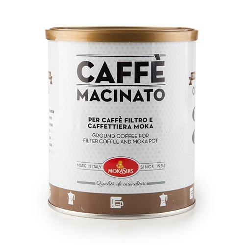 Pipolà Caffè macinato 100% arabica Mokasirs - Prodotti tipici ciociari online - Spesa genuina di qualità online Frosinone, Latina, Roma - Shop agricolo online Roma