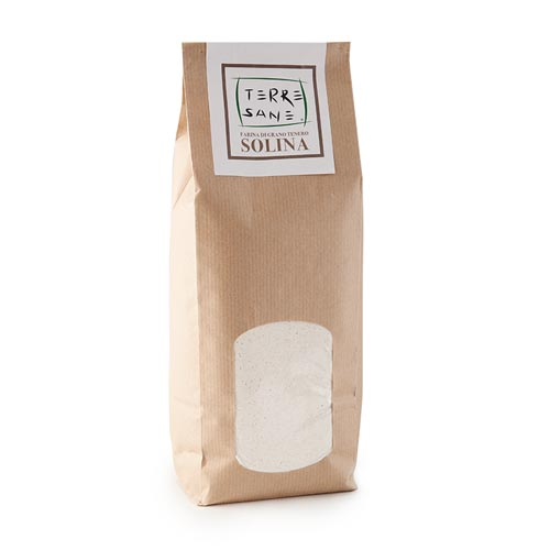 Pipolà Farina di grano tenero Solina - Prodotti tipici ciociari online - Spesa genuina di qualità online Frosinone, Latina, Roma - Shop agricolo online Roma