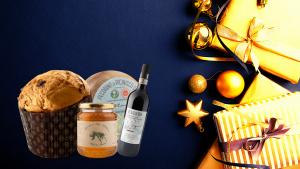Confezioni e cesti di Natale di prodotti ciociari