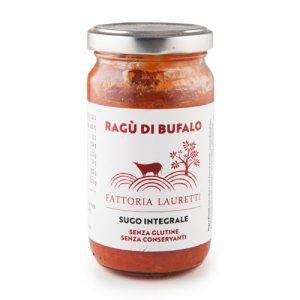 Ragù di bufalo Lauretti - sugo integrale senza glutine ne conservanti - Amaseno
