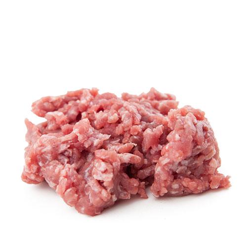 Carne macinata scelta di bovino