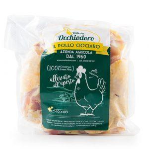 sovracosce di pollo - Occhiodoro il pollo ciociaro - prodotti tipici ciociari