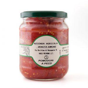 Pomodori a pezzi - Az. Agr. Venuta Simone - prodotti agricoli ciociari - Pipolà