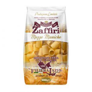 Mezze maniche di semola di grano duro Zaffiri Sora Frosinone - prodotti tipici online - Pipolà