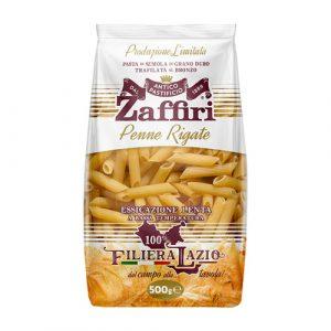 Penne rigate di semola di grano duro Zaffiri Sora Frosinone - prodotti tipici online - Pipolà