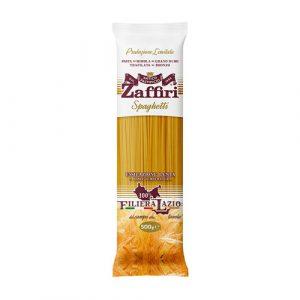 Spaghetti di semola di grano duro Zaffiri Sora Frosinone - prodotti tipici online - Pipolà